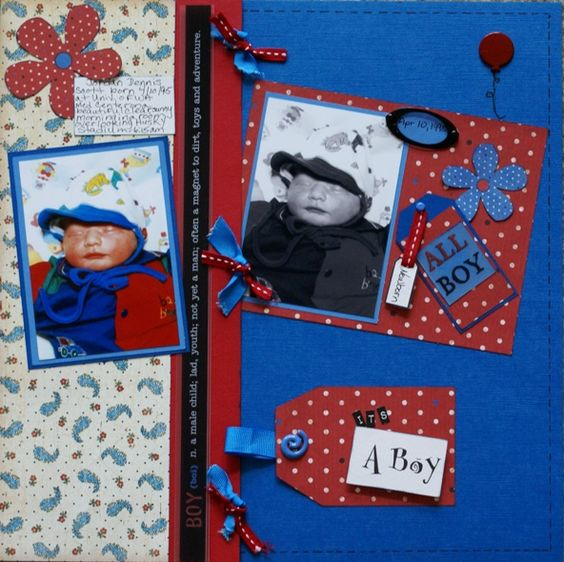 It's+A+Boy - Scrapbook.com
