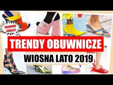 Trendy Obuwnicze Wiosna Lato 2019 Najmodniejsze Buty Sezonu Shoelove Youtube Shoes Heels Fashion