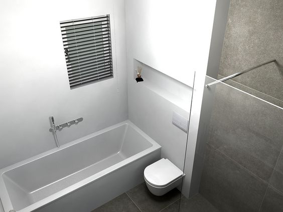 ideeën badkamer bad en douche | badkamer | pinterest, Badkamer