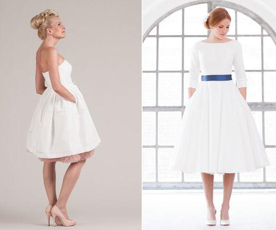 Standesamtkleider von küssdiebraut und noni  The Bride  Die Braut ...