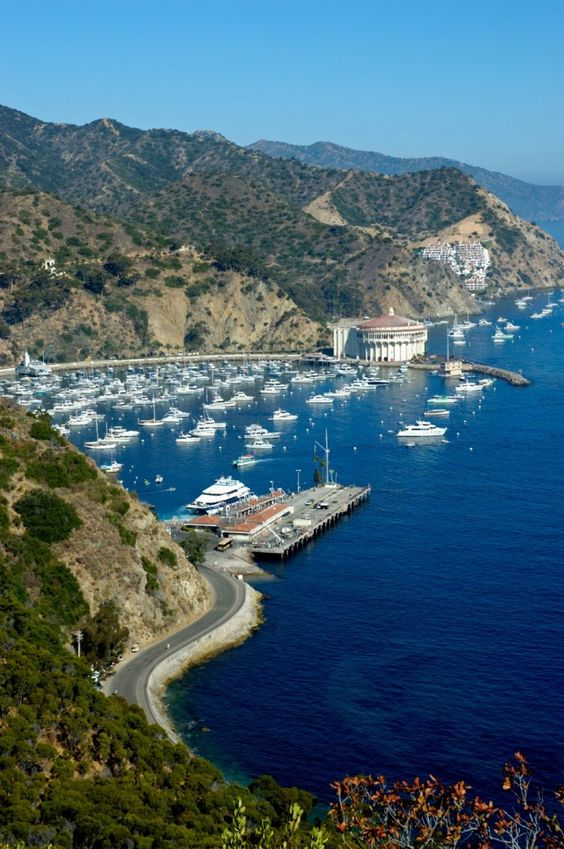 Voted one of the most romantic islands in the United states. Experiencing any place new with my husband feels romantic to me :) September 2014 Catalina Island, California here we come!