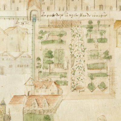 early French garden design.