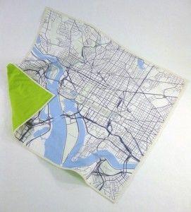 map quilt.
