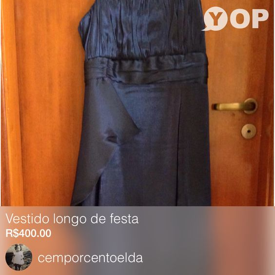 Vendendo Vestido longo de festa por R$400.00  Consegue-O Agora: https://yop.land/p/145995?utm_source=yop_ios&utm_medium=share