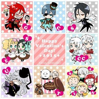 Kuroshitsuji valentine day