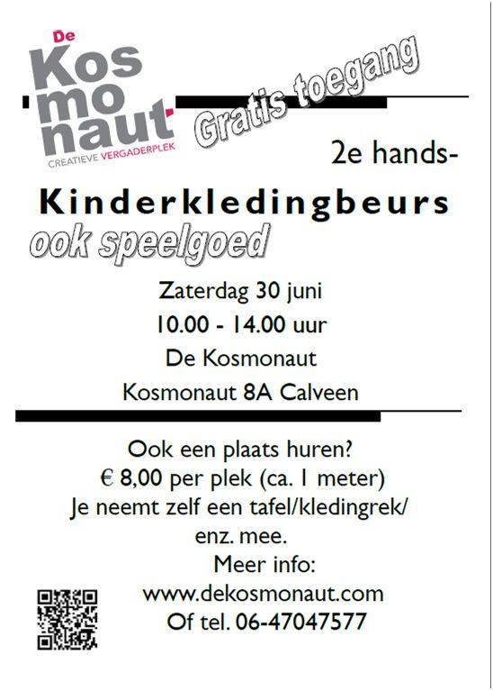 2e hands kinderkledingbeurs 30 juni 2012