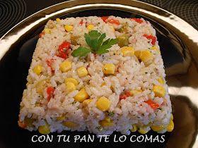 Con tu pan te lo comas: ENSALADA DE ARROZ