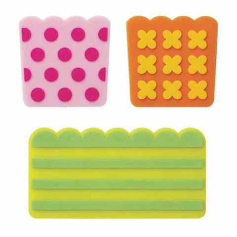 Kawaii BARAN Silicone Food Divider BENTO Lunch Box Accessories 5 pcs