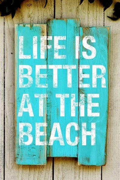 LIFE IS BETTER AT THE BEACH | Decorar tu casa es facilisimo.com