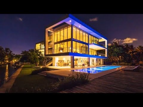 30 000 000 Miami Ultra Modern Gigamansion 3550 Matheson Avenue