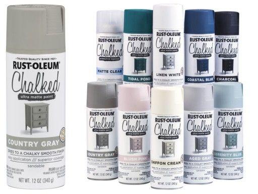 Farba Kredowa Do Mebli Spray Rustoleum Bialy 6958581592 Oficjalne Archiwum Allegro Matte Paint White Chalk Rustoleum