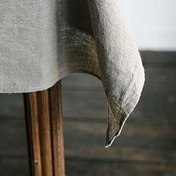 linen table cloth by yumiko sekine