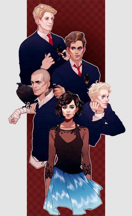 Resultado de imagen de the raven boys tumblr