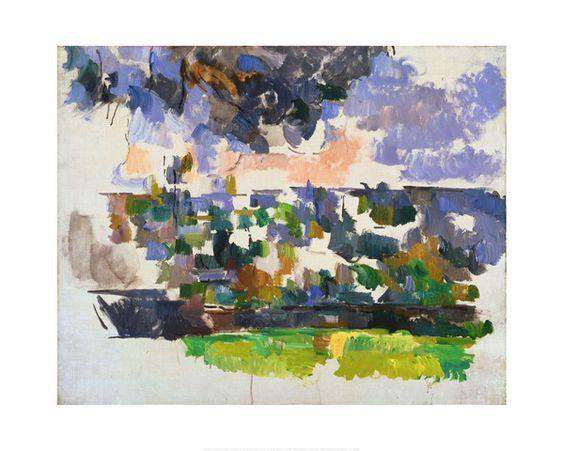 Paul Cezanne - The Garden at Les Lauves (Le Jardin des Lauves), circa 1906 - Art Prints from the Phillips Collection