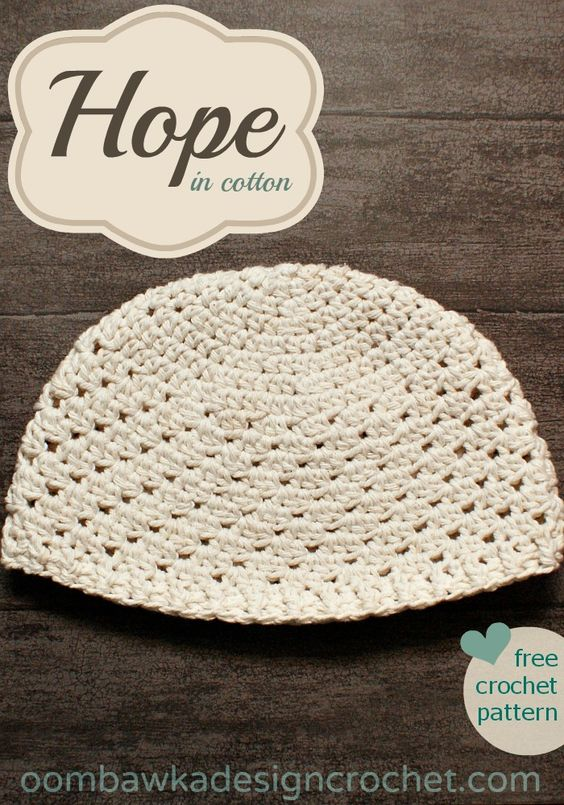 Free Crochet Patterns Using Cotton Yarn : Hope for women - in cotton - a free crochet pattern Free ...