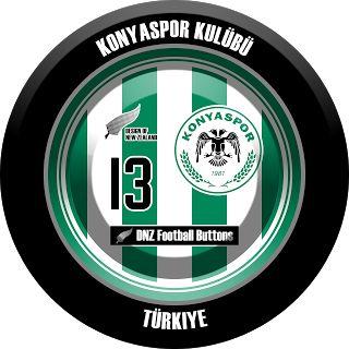 DNZ Football Buttons: Konyaspor Kulübü