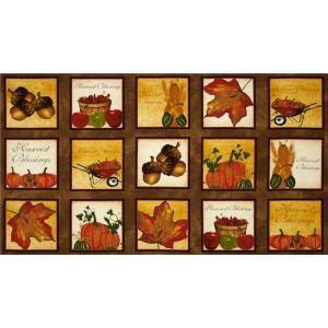 Panel de otoño y calabazas - Gloria Patchwork http://www.gloriapatchwork.com/tienda/paneles-varios/5675-panel-de-otono-y-calabazas.html