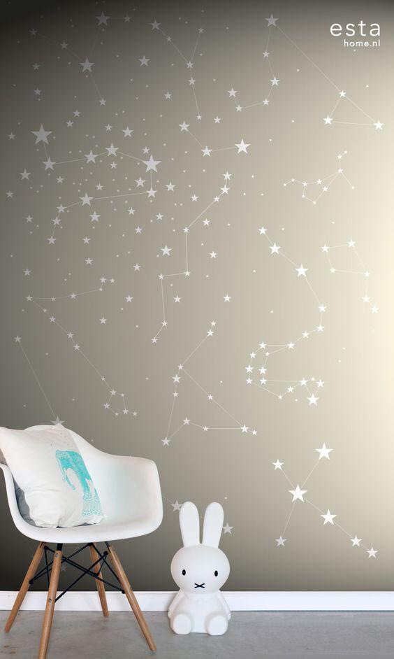 Mural Starry night 158705 - Little Room