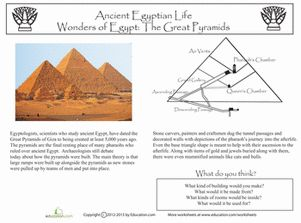 Printables Middle School Social Studies Worksheets the great pyramids middle school ojays and world social studies worksheets history printables worksheets