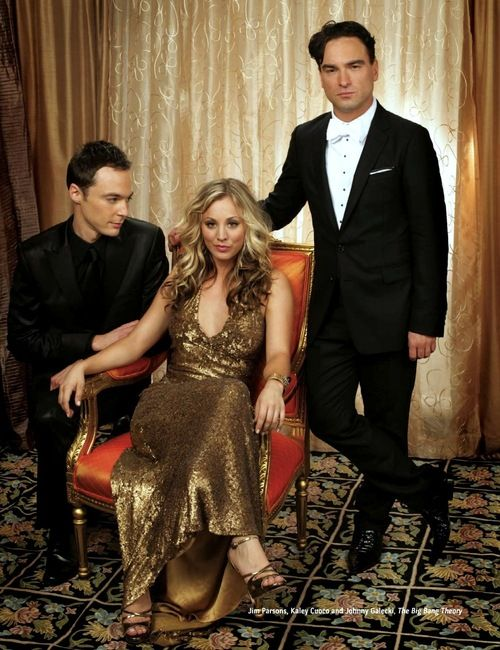 Kaley Cuoco, Jim Parsons, Johnny Galecki