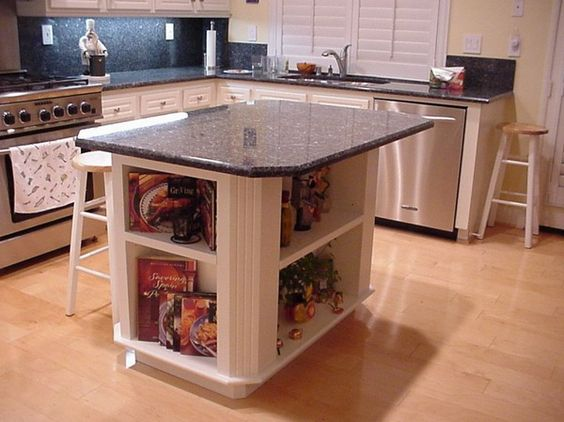 granite kitchen island table contemporary with picture of beautiful design new ideas images. Black Bedroom Furniture Sets. Home Design Ideas