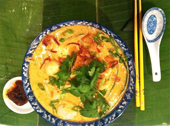 Auria's Malaysian Kitchen: Curry Laksa