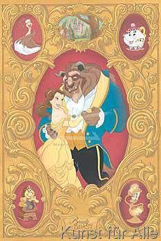 Walt Disney - Beauty and the Beast