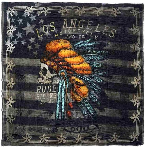 RUDE RIDERS Tuch -