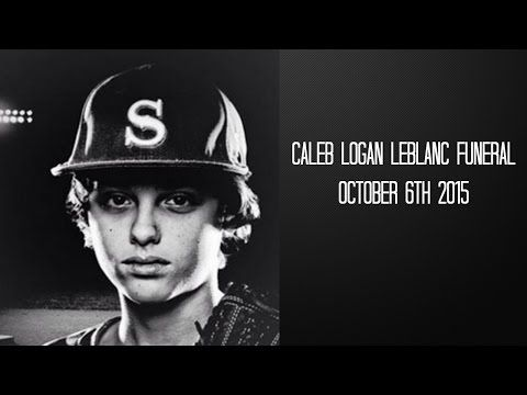 Caleb Logan Funeral/Memorial Service - YouTube