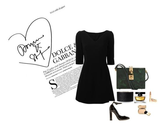 """""""D&G"""" by wmaria ❤ liked on Polyvore featuring Dolce&Gabbana"""