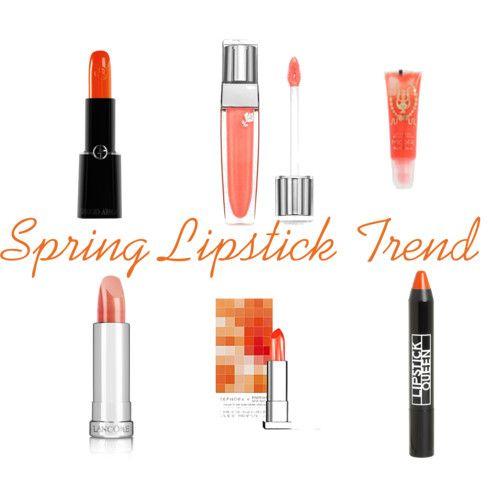 Spring Lipstick -- Tangerine