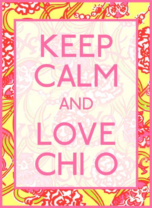 Always a Chi O. Love!