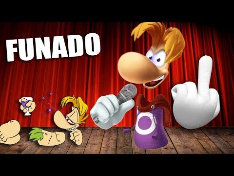 Estoy Funado Rayman Version Completa Video Oficial Youtube Disney Characters Character Mario Characters