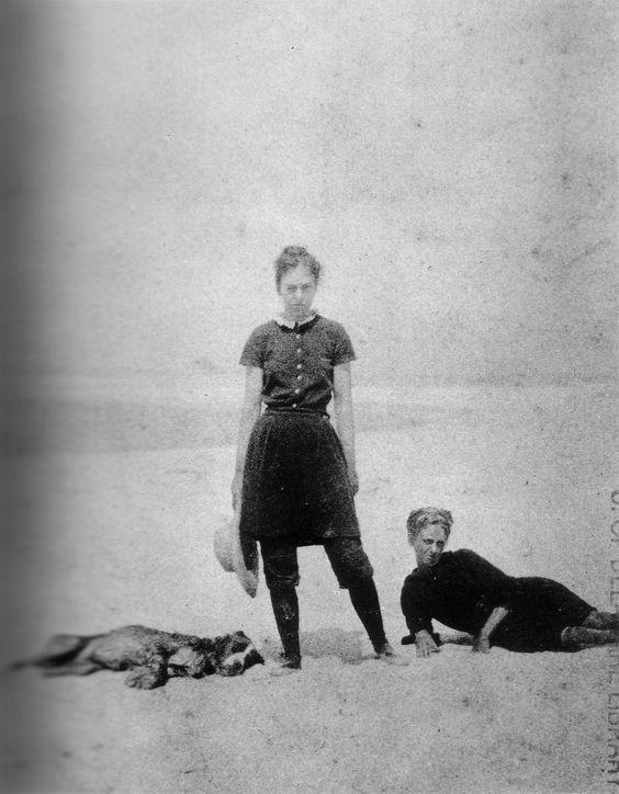 Thomas Eakins (1844-1916) • At the Beach