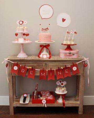 Chá de Casa Nova // Chá de Panelas // Chá de Cozinha // Mesa do Bolo // Decoração // Cores: Vermelho e Rosa // Lindo <3: