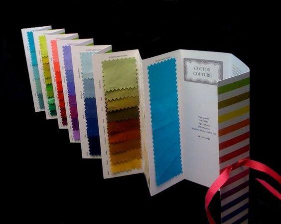 Fashion Design Fabric Swatches