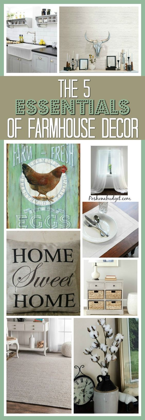 The 5 Essentials of Farmhouse Decor