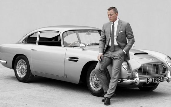 10 Of The Greatest Movie Cars Of All Time. Where should this #AstonMartin DB5 make it on the list? Click to find where we put it! #007 #spon