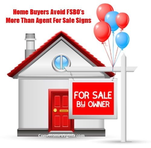 Home Buyers are more likely to pass by FSBO signs than they are signs from professional Realtors