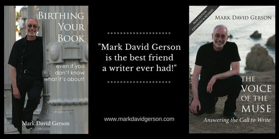 """Mark David Gerson is the best friend a writer ever had!"" • http://www.markdavidgerson.com/books/organicscreenwriting"