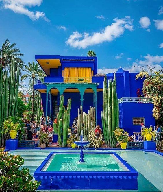 Épinglé par ™︎ sur majorelle | Jardin majorelle, Photo jardin, Photo maroc