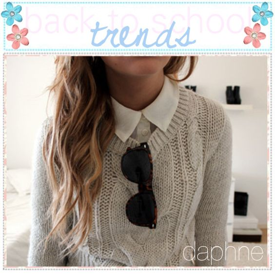 back to school trends♥ by the-tip-adventure on Polyvore featuring Made of Me