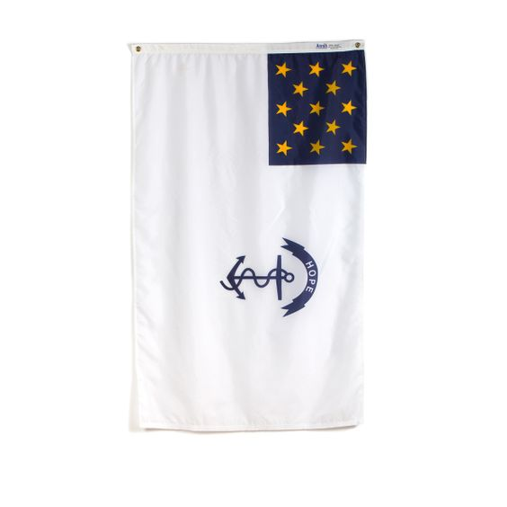 The Rhode Island Flag