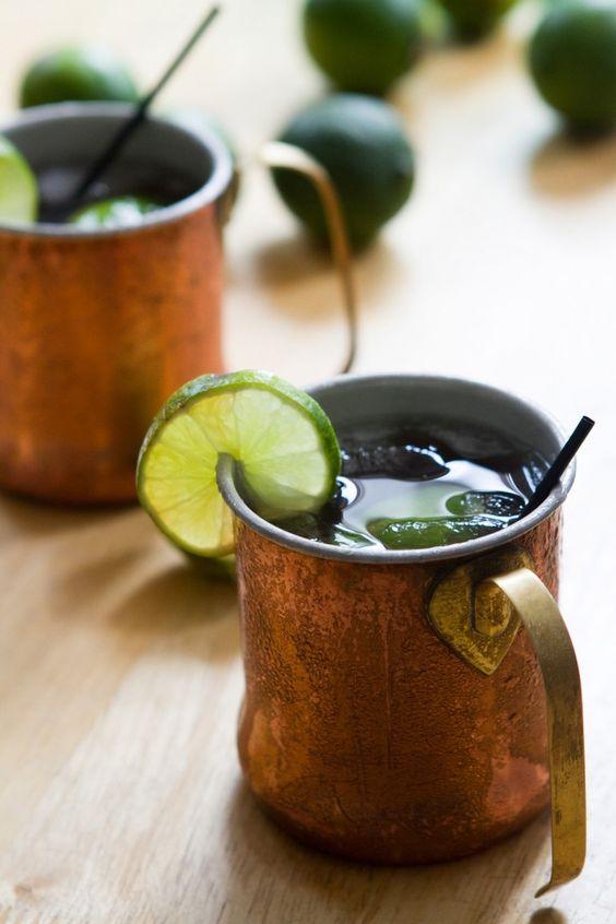 El Diablo Cocktail - tequila cocktail for the boys....