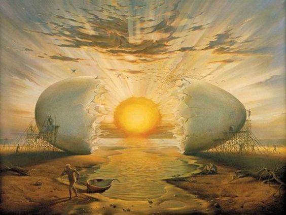 Salvador Dali painting | Dali | Pinterest | Vladimir kush, Sun and ...