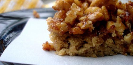 Maple Walnut Sweet Potato Loaf
