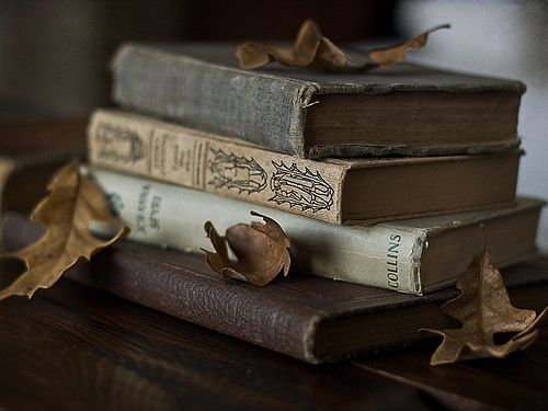 : Vintage Books, Autumn Reading, Bookworm, Beautiful Books, Book Leaves, Antique Books, Old Books, Books Reading