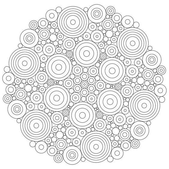 Mandala Simple A Imprimer Pour Les Adultes Qui Veulent Se