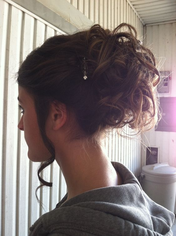 Magnificent Updo Hairstyles And Homecoming Updo On Pinterest Short Hairstyles For Black Women Fulllsitofus