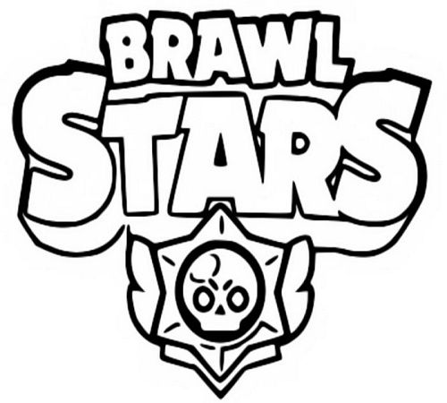 Pin Auf Brawl Stars Ausmalbilder